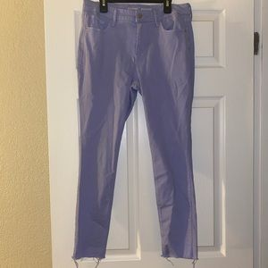 Purple old navy jeans